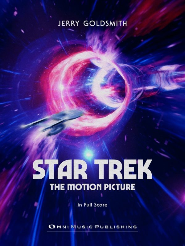 """Jerry Goldsmith """"Star Trek: The Motion Picture"""" Full Orchestral Score"""